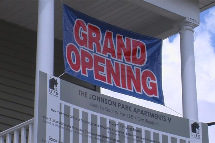Grand opening and dedication ceremony at Johnson Park Apartments _7064359044670571633
