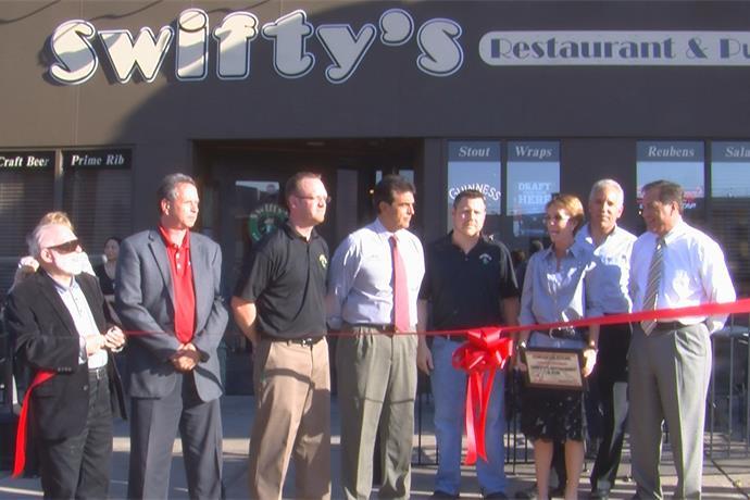 Swifty's Restaurant Ribbon Cutting Ceremony_-7756888582258146065