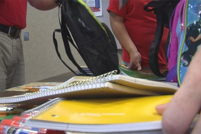 The United Way collects and distributes nearly 500 lbs of school supplies_-7571812928264584466