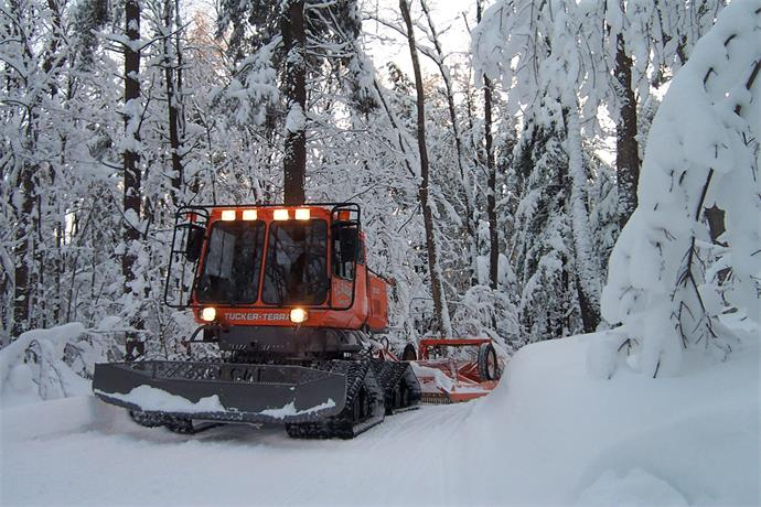 Winter weather hasn't been easy for area snowmobile trail groomer_1180643366603607197