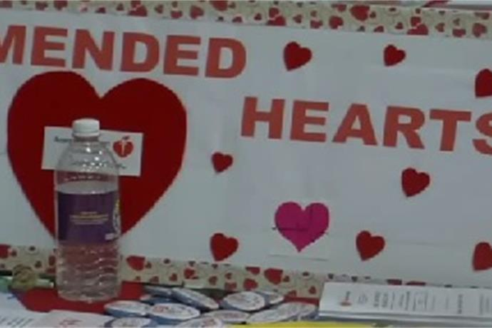_Mended  Hearts_ one of many booths at Health and Fitness Expo_-8942366730898879038
