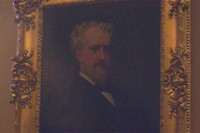 Oneida County Historical Society Unveils Senator Roscoe Conkling Portrait_-6483956704188676759