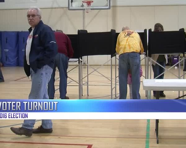 Voter turnout 2016