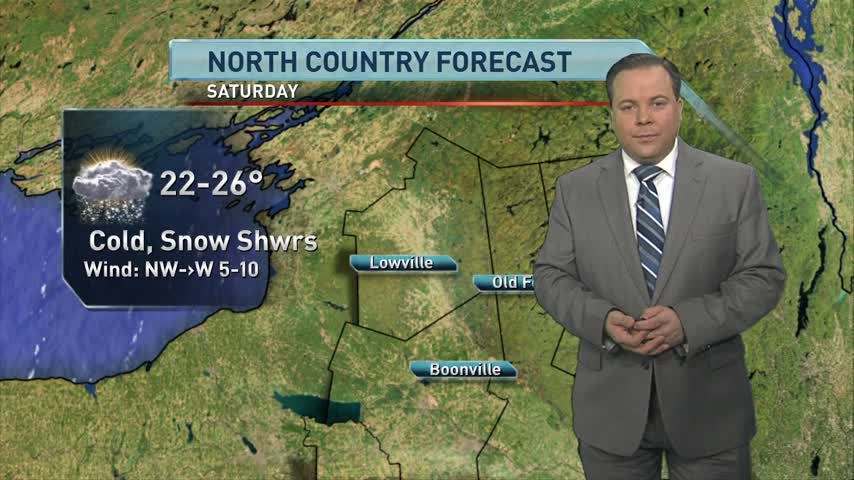 North Country forecast 12/9