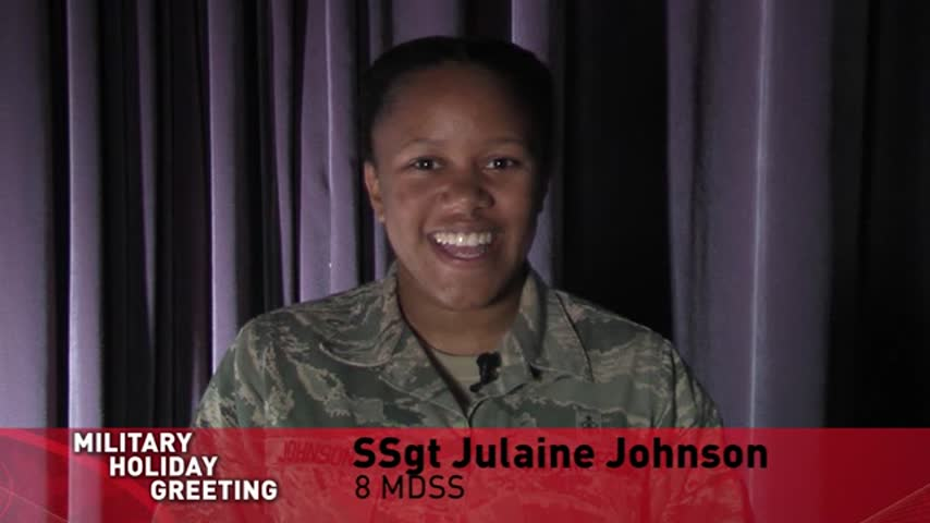 SSgt Johnson and Dahl -  Holiday Greetings