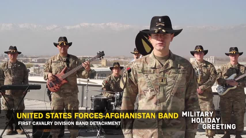 US Forces - Afghanistan Band - Gary Owen
