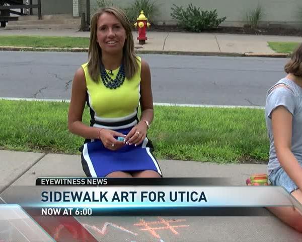 Getting Artsy With Chalk and a Sidewalk_46886849