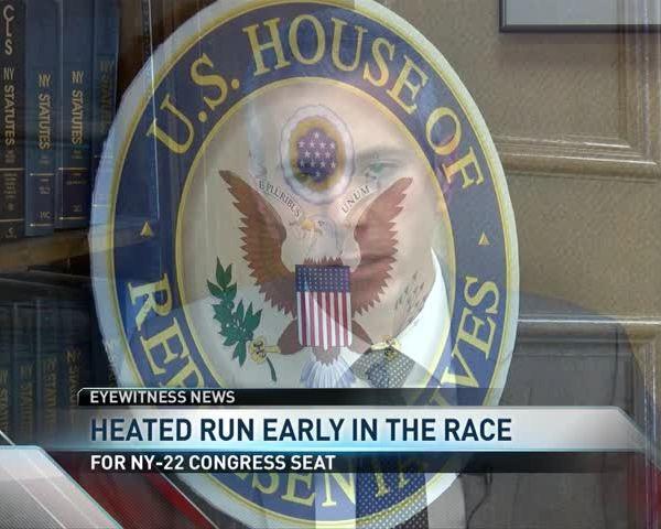 Heated Run Early on in Race of NY-22_55014905