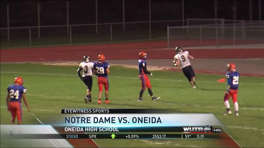 Notre Dame wins, RFA, Little Falls suffer losses