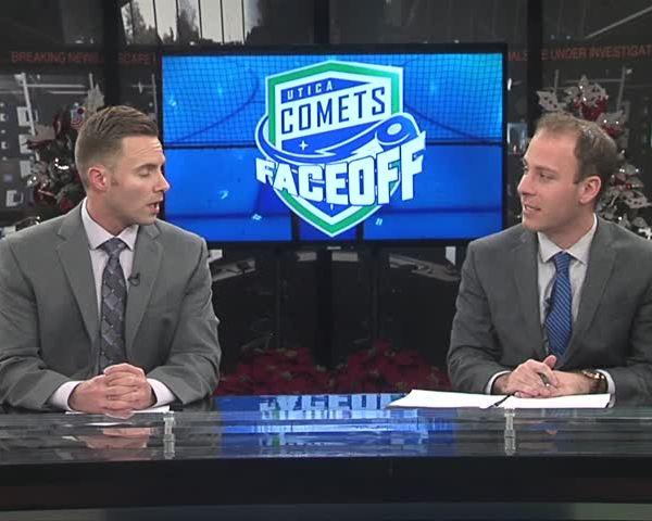 Comets Faceoff 12-14-17: Brendan Woods Part 1