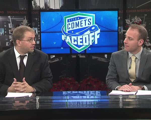 Comets Faceoff 12-28-17 Part 1