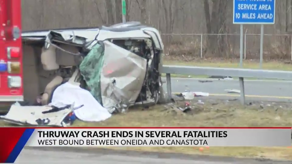 Serious Crash On Thruway