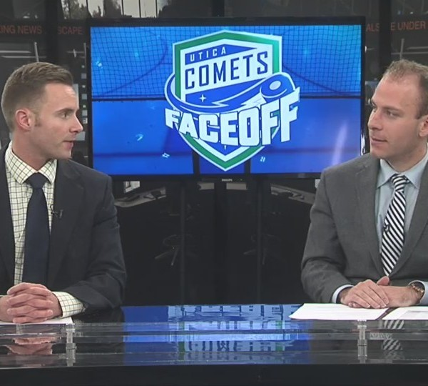 Comets Faceoff 3-1-18: Adam Comrie Part 1