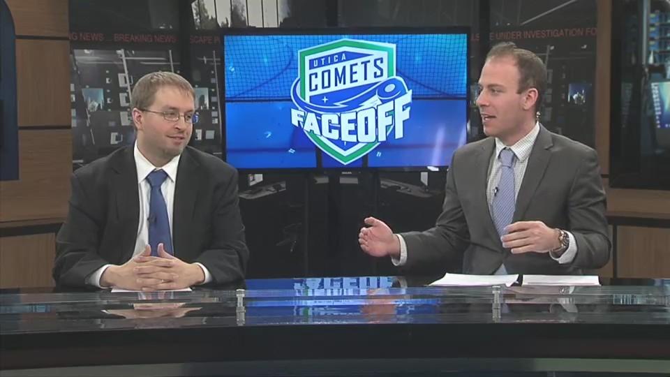 Comets Faceoff 3-22-18: Griffen Molino Part 1