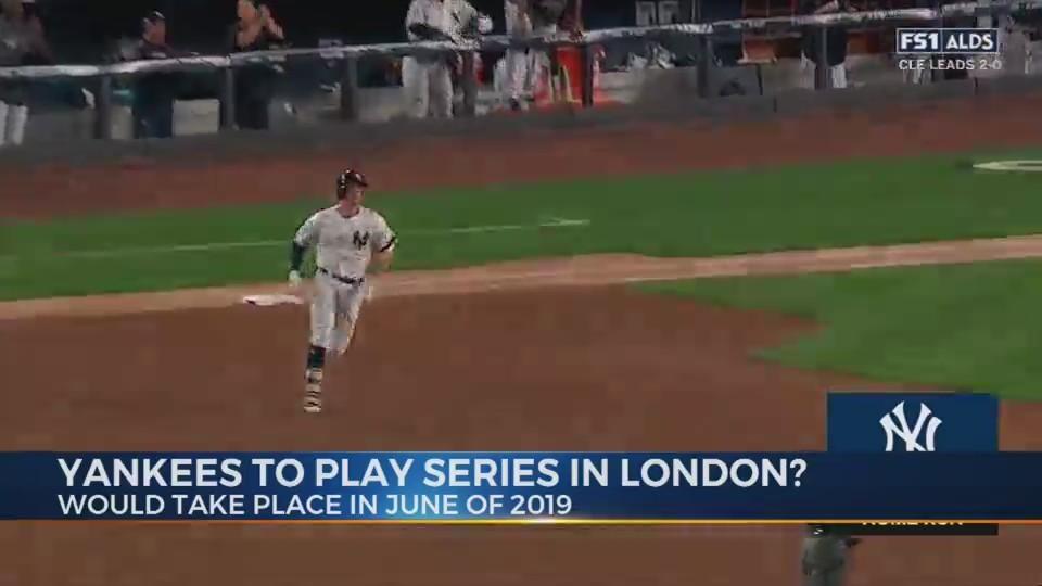 Yankees rumored to play in London