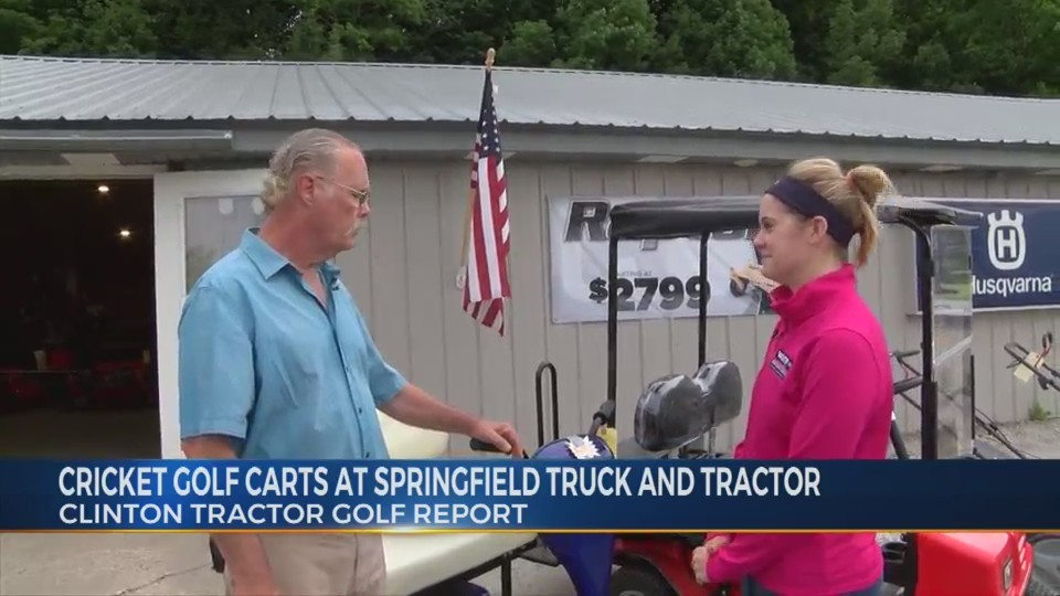 Clinton Tractor Golf Report: Springfield Truck and Tractor 6/27/18