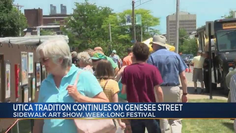 Utica Sidewalk Art Show Festival