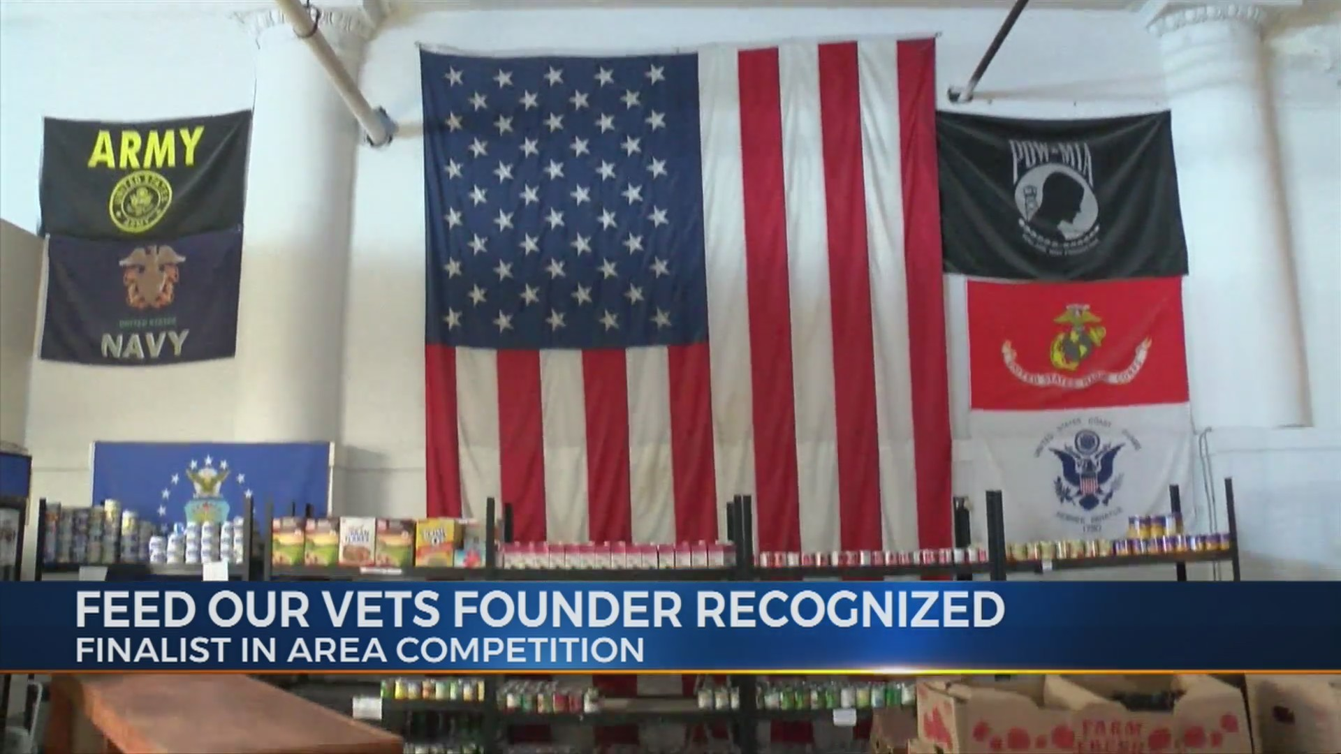 Feed Our Vets founder recognized