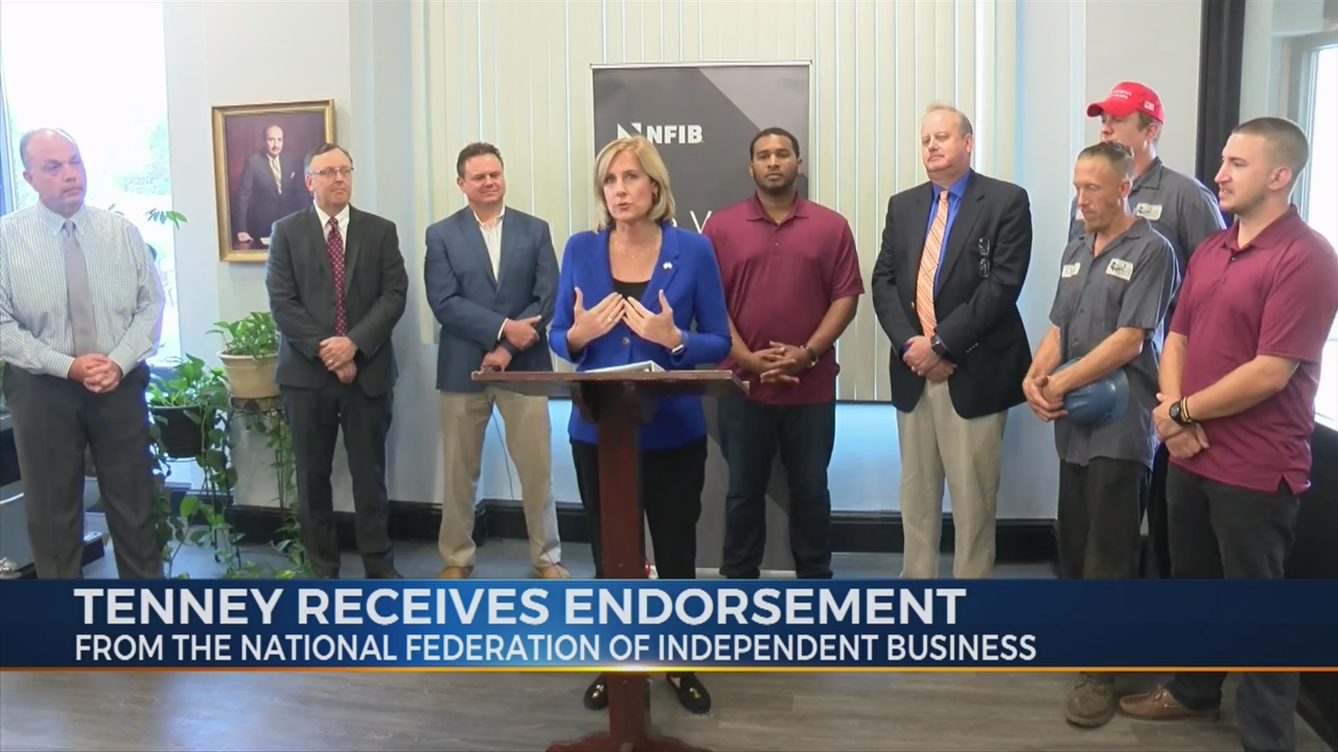 Tenney receives endorsement from NFIB