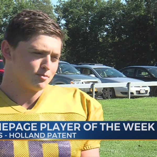 CNYHomepage Player of the Week: Week 2