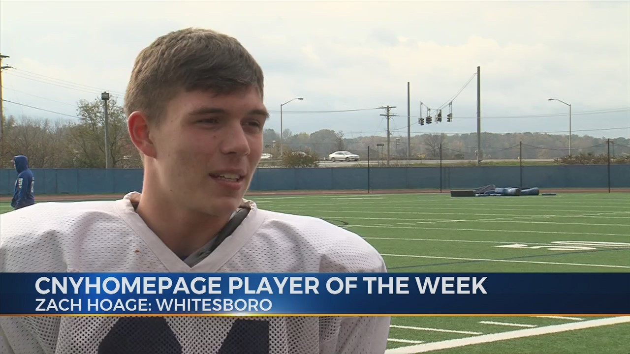 CNYHomepage Player of the Week: Zach Hoage