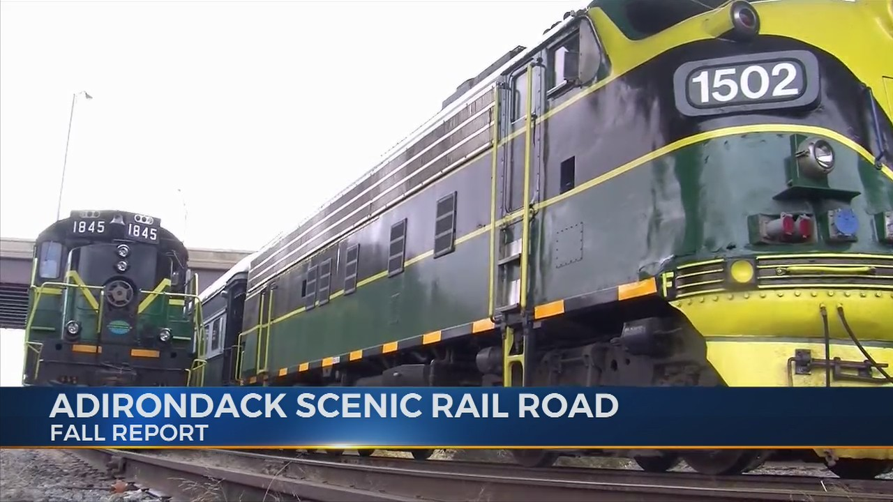 Fall Report - Adirondack Scenic Railroad