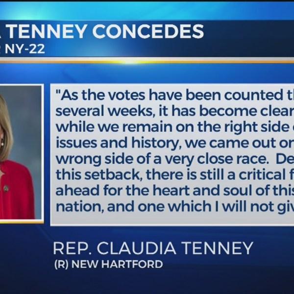 Claudia Tenney concedes