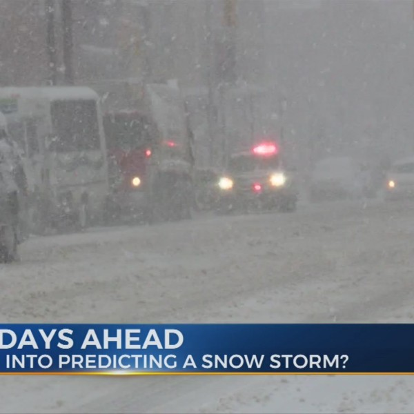 What goes into predicting a snowstorm?