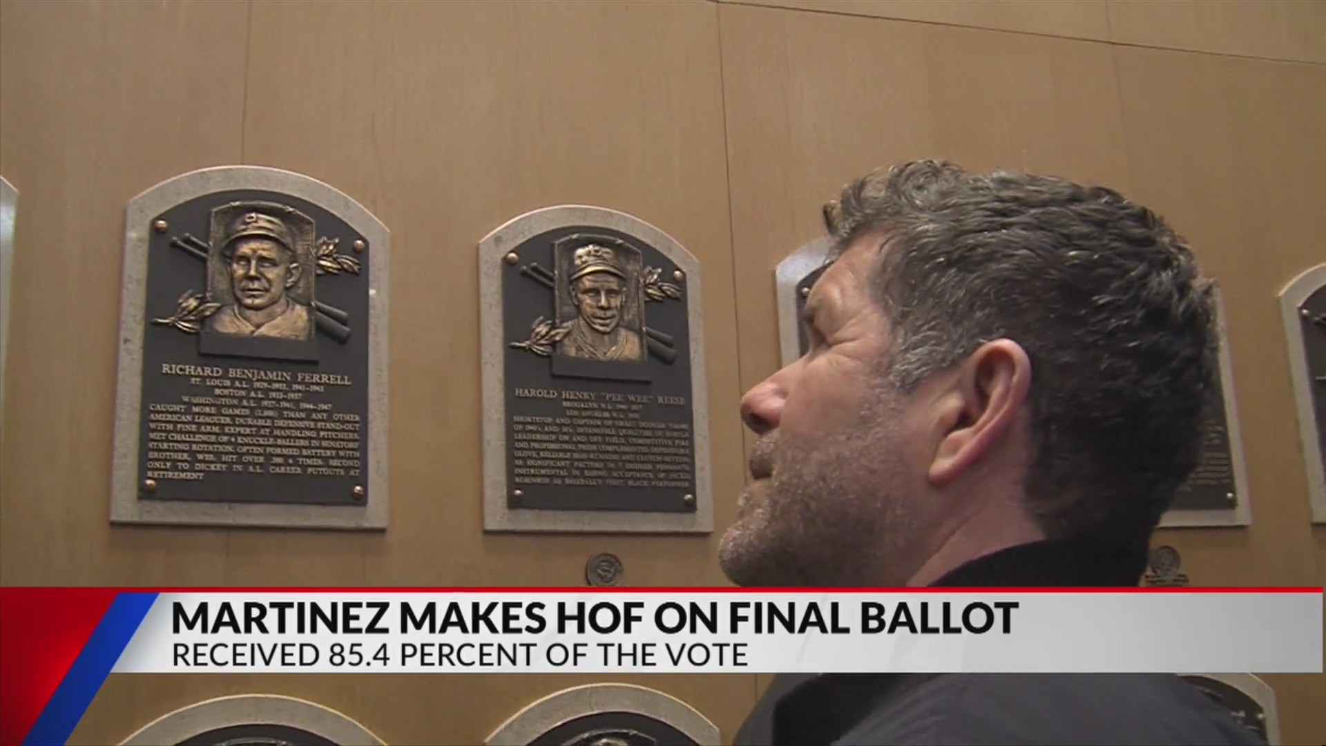 Martinez reaches Cooperstown on final ballot