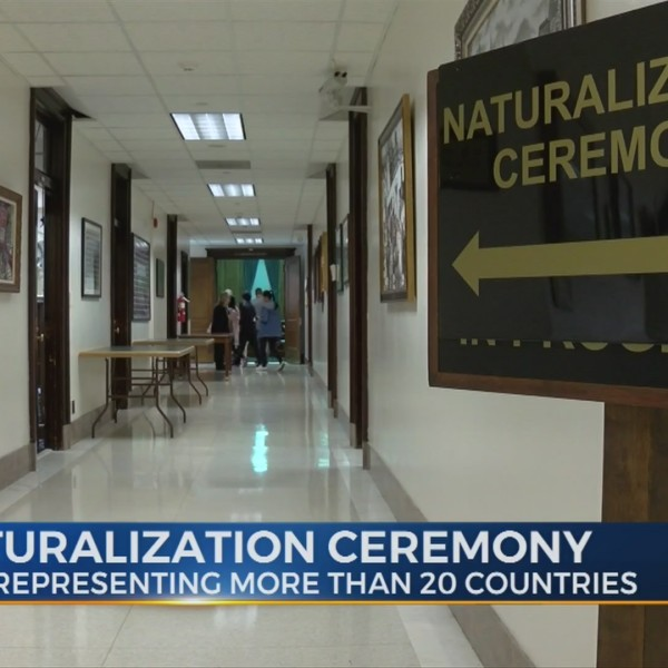 The Naturalization Ceremony