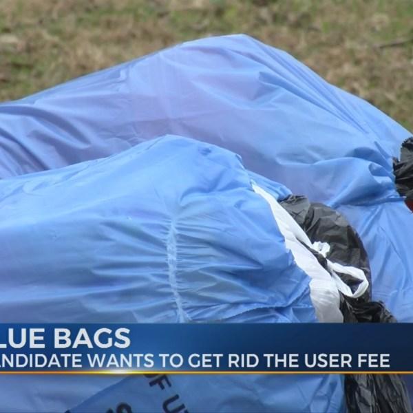 Utica Blue Bags