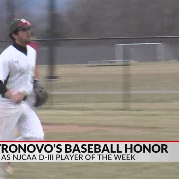 Castronovo earns NJCAA baseball honor