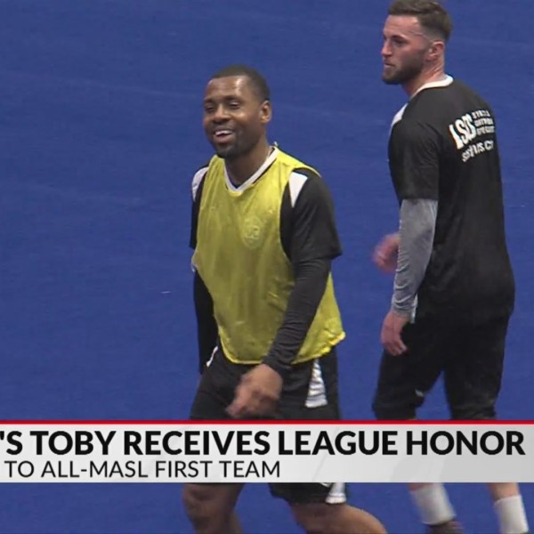 Hall, Toby receive MASL honors