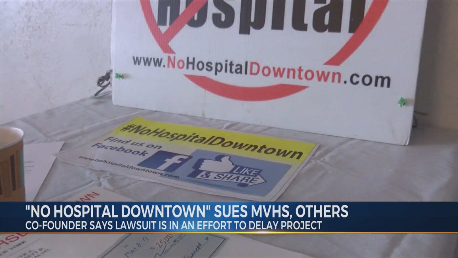 'No Hospital Downtown' Sues MVHS And Others