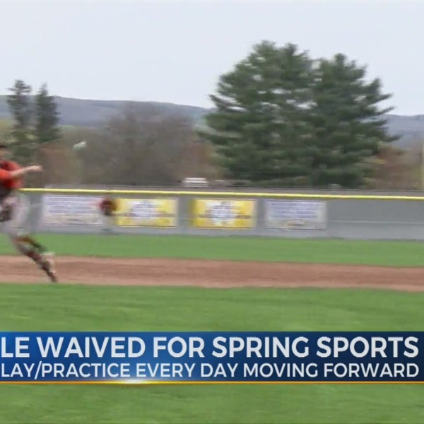 Seven-day rule waived for spring sports