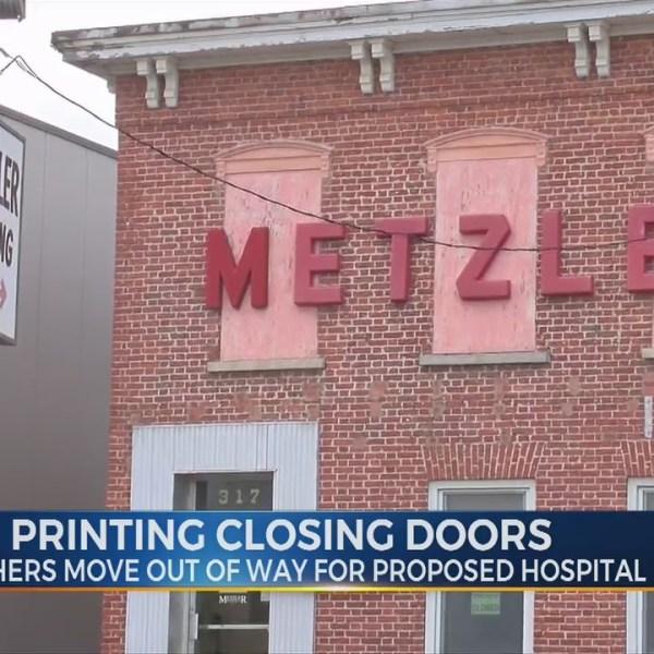 Metzler Printing Closing Doors