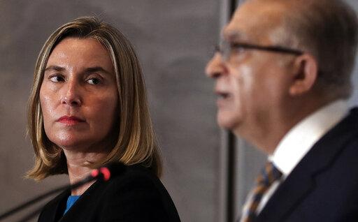 Mohamed Alhakim, Federica Mogherini