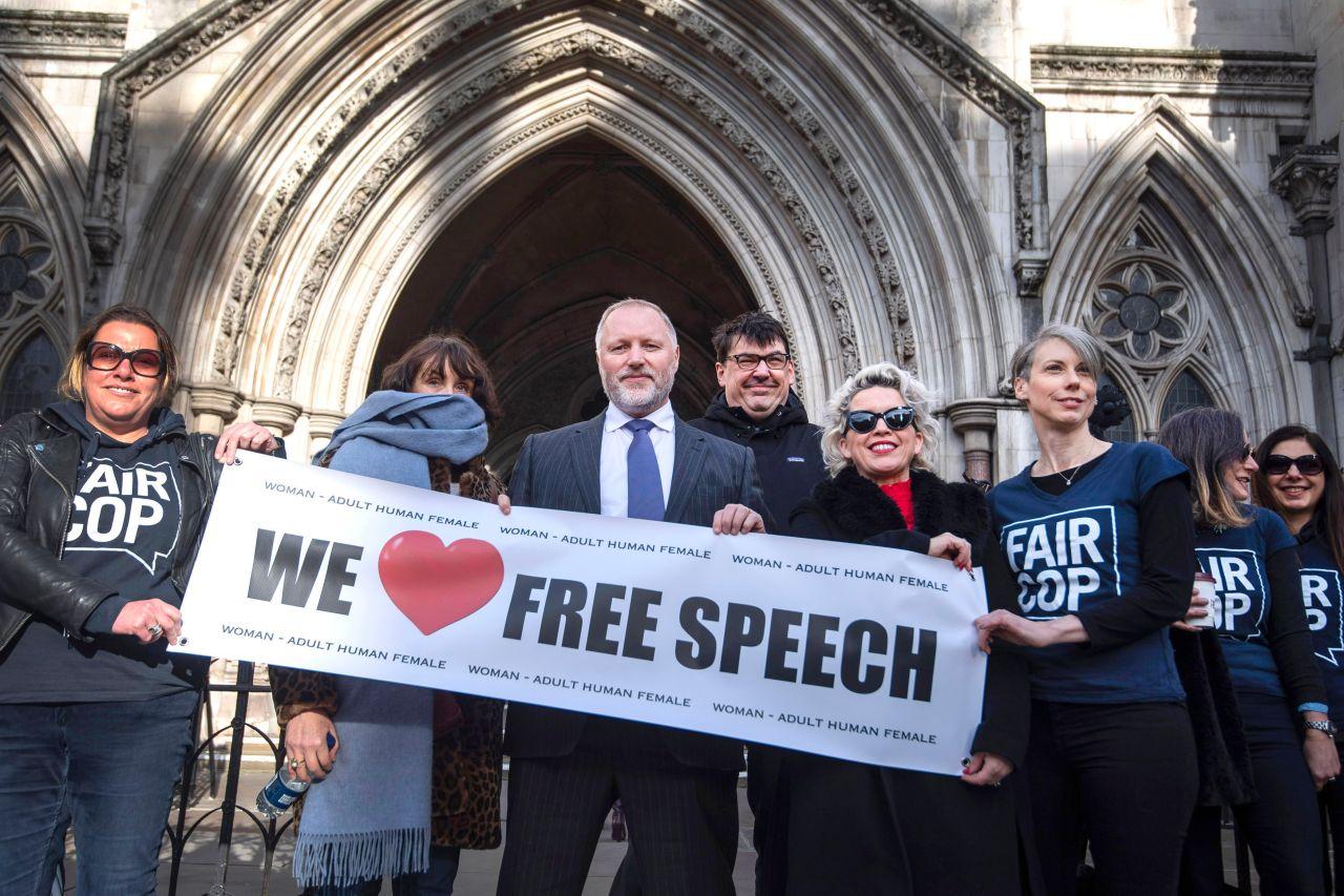 uk judge  police probe of  u2018transphobic u2019 tweets was unlawful
