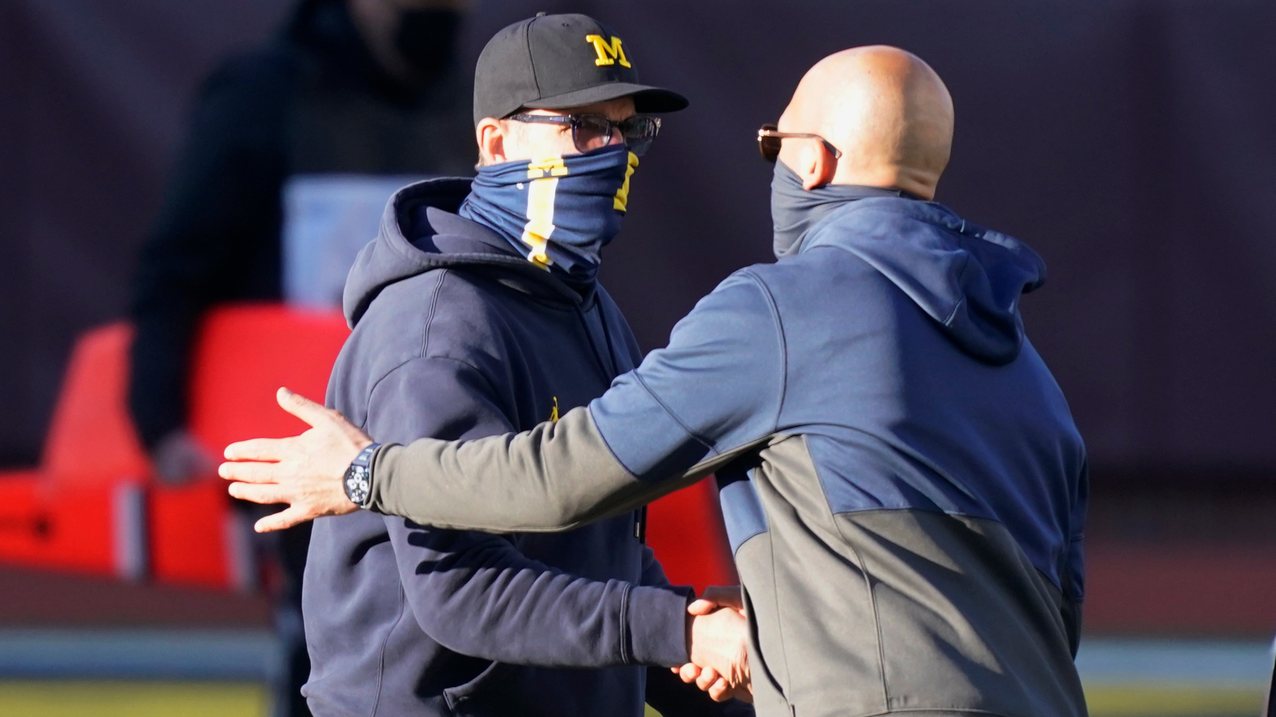 Jim Harbaugh, James Franklin
