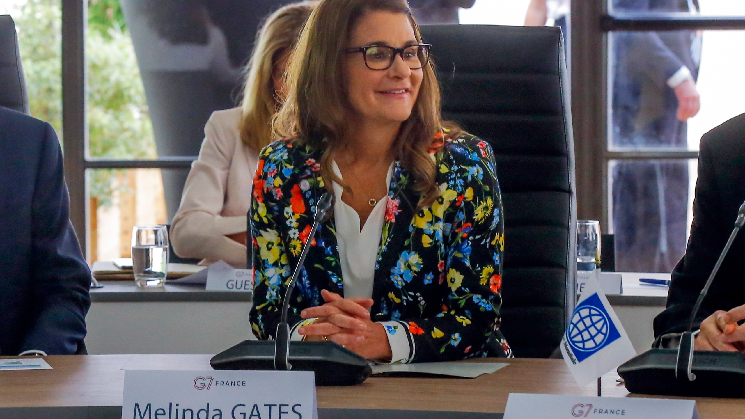 Melinda Gates, Steve Mnuchin, David Malpass