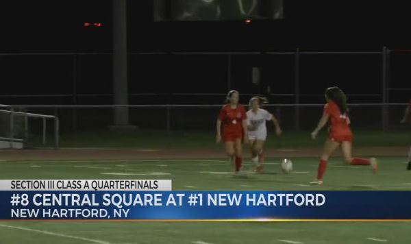 WUTR/WPNY Eyewitness Sports Director David Edelstein - Highlights: New Hartford Girls Soccer Advances to Class A Semifinals with 31st-Straight Win