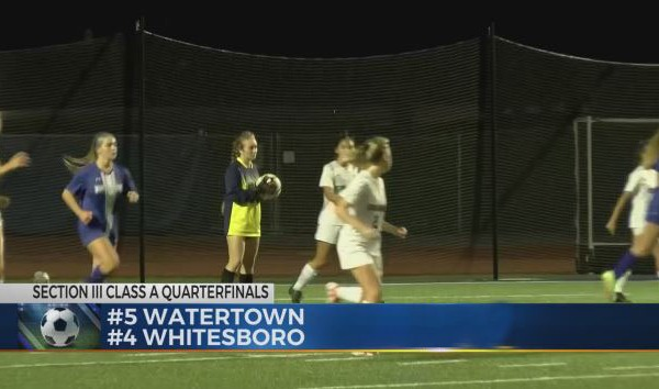 Whitesboro Girls Soccer comes Back in 2nd Half, plays rival New Hartford next in semi finals