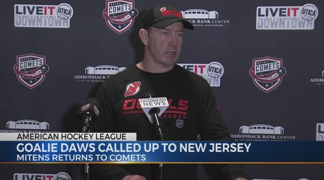 Interviews: Comets Head Coach Dineen looking for rookie goalies to develop their games