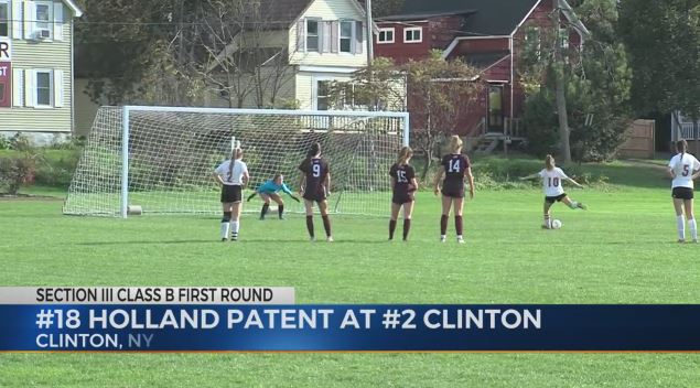 Clinton Girls Soccer gets revenge over rival Holland Patent for 2019 Sectional loss, advances to QF's