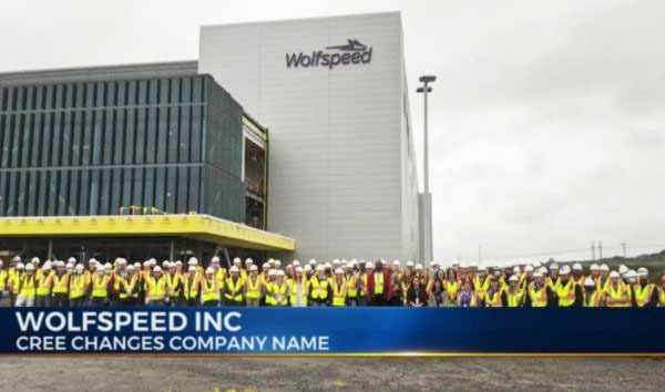 Cree changes its company name to 'Wolfspeed Inc'