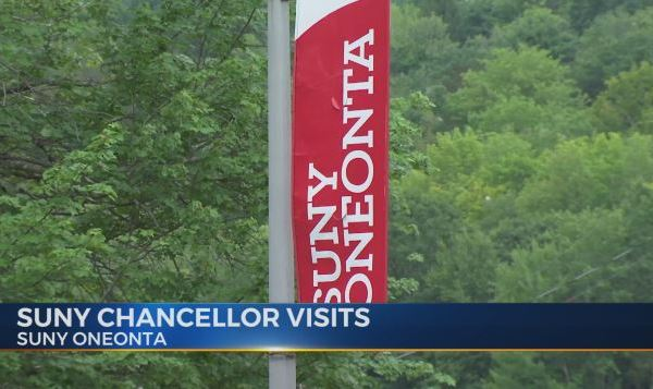 SUNY Chancellor visits SUNY Oneonta to discuss mental health initiatives